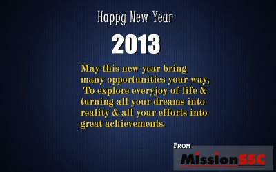 new year mission ssc